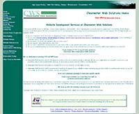 Clearwater Web Solutions, Before Redesign